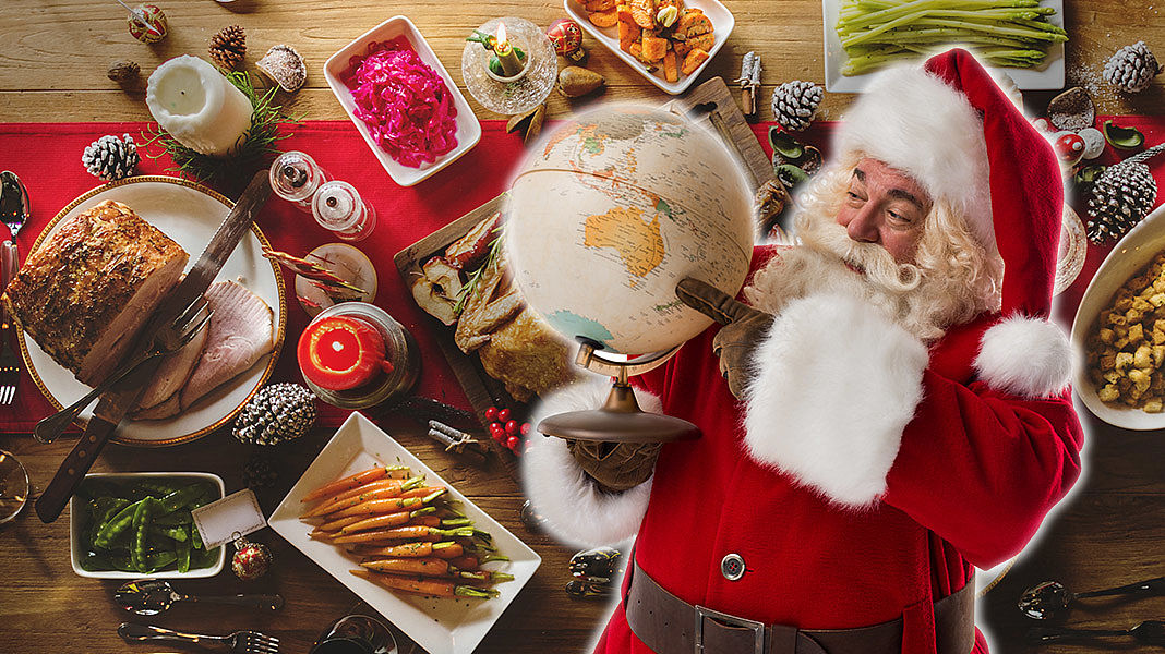 Weihnachtsessen Deutschland Tradition.Weihnachtsessen International