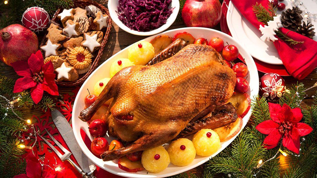 Weihnachtsessen Deutschland Tradition.Woher Kommt Die Weihnachtsgans Tradition